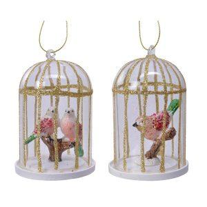Christmas - Birdcage Decoration